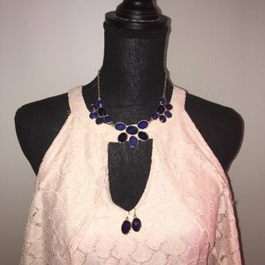 No designer fashion necklace and earrings